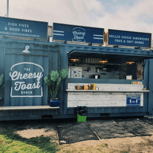 AndMunch street food guide ; East Coast - The Cheese Toastie Shack