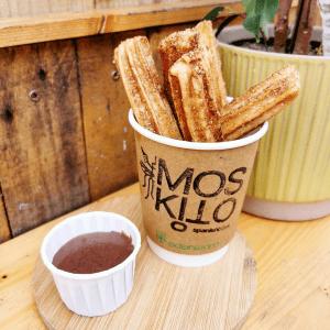 Moskito Spanish Bites, Churros & Chocolate