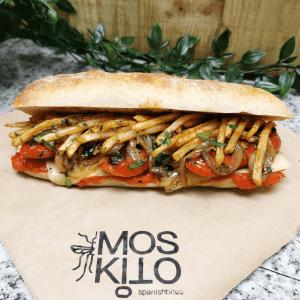 AndMunch street food guide ; East Coast - Moskito Spanish Bites, ciabatta