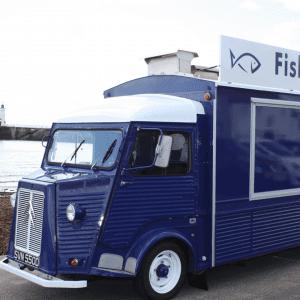 AndMunch street food guide ; East Coast - Fish & Frites, truck
